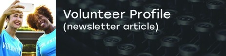 Writing Sample - Volunteer Profile